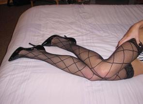 femme en bas sexy